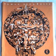 Coleccionismo de Revista Temas Españoles: ESPAÑA EN LOS ALTARES. MIGUEL RODRIGUEZ PANTOJA. TEMAS ESPAÑOLES Nº 8. Lote 52611206