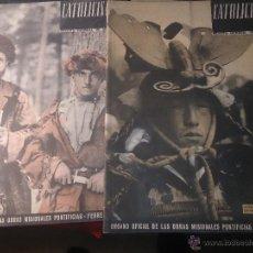 Coleccionismo de Revista Temas Españoles: CATOLICISMO LOTE DE 5 REVISTAS: ENERO, FEBRERO MARZO ABRIL Y MAYO 1945. Lote 52718645