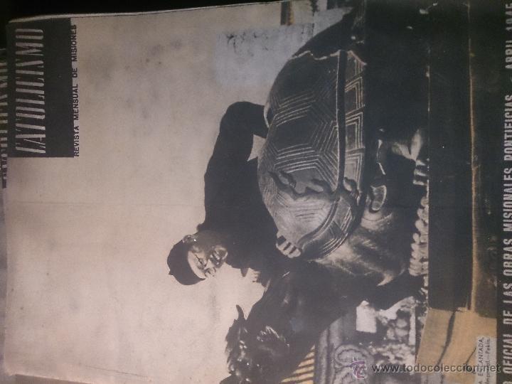 Coleccionismo de Revista Temas Españoles: CATOLICISMO LOTE DE 5 REVISTAS: ENERO, FEBRERO MARZO ABRIL Y MAYO 1945 - Foto 3 - 52718645