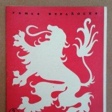 Coleccionismo de Revista Temas Españoles: LEON. TEMAS ESPAÑOLES Nº 325. Lote 52883233