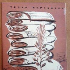 Coleccionismo de Revista Temas Españoles: FIBRAS TEXTILES.TEMAS ESPAÑOLES Nº 393. Lote 52883342