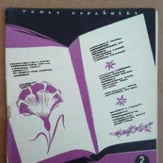 Coleccionismo de Revista Temas Españoles: 6 POETAS CONTEMPORÁNEOS. TEMAS ESPAÑOLES Nº 31. Lote 52883473