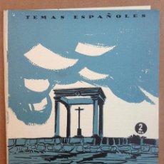 Coleccionismo de Revista Temas Españoles: AVILA TEMAS ESPAÑOLES Nº 287. AÑOS 50. Lote 52884739