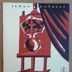 Coleccionismo de Revista Temas Españoles: RETRATOS REALES. TEMAS ESPAÑOLES Nº 275. Lote 52884780