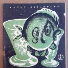 Coleccionismo de Revista Temas Españoles: LOS VIDRIOS. TEMAS ESPAÑOLES Nº 293.. Lote 52885015