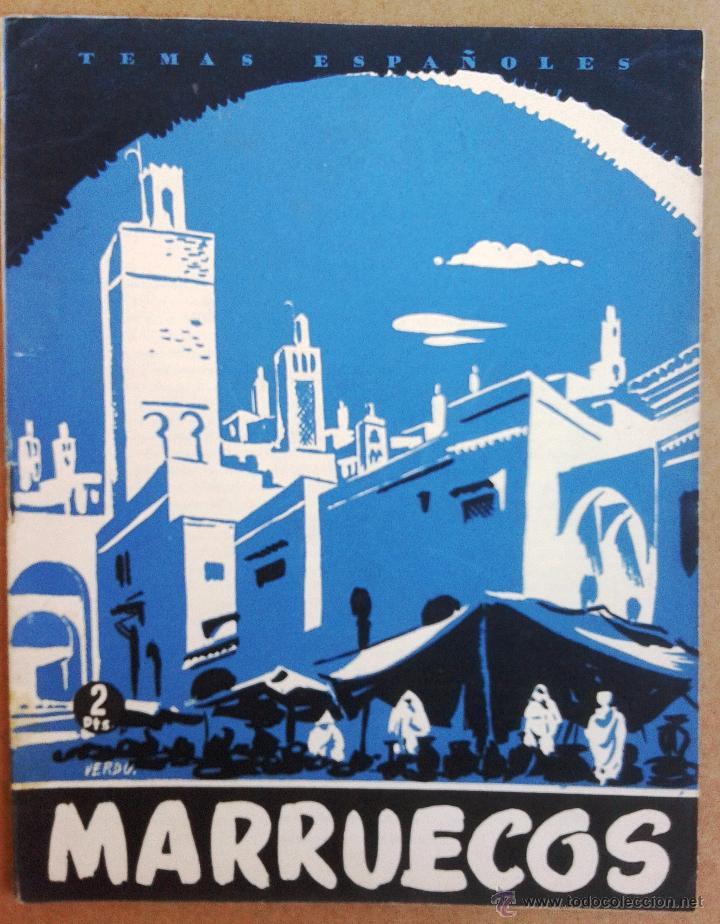 MARRUECOS TEMAS ESPAÑOLES Nº 45 (Papel - Revistas y Periódicos Modernos (a partir de 1.940) - Revista Temas Españoles)