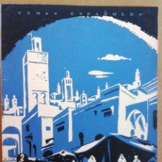 Coleccionismo de Revista Temas Españoles: MARRUECOS TEMAS ESPAÑOLES Nº 45. Lote 52886913