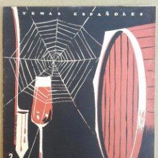 Coleccionismo de Revista Temas Españoles: JEREZ Y SUS VINOS. TEMAS ESPAÑOLES Nº 266. AÑOS 50. Lote 52895090