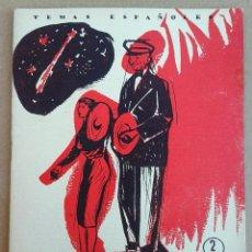 Coleccionismo de Revista Temas Españoles: LAS FALLAS - TEMAS ESPAÑOLES Nº 239. AÑOS 50. VALENCIA. Lote 52895116