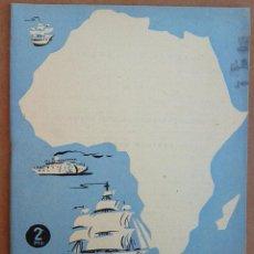 Coleccionismo de Revista Temas Españoles: AFRICA EN LAS NAVEGACIONES ESPAÑOLAS. REVISTA TEMAS ESPAÑOLES Nº 383. AÑOS 50. Lote 52954776