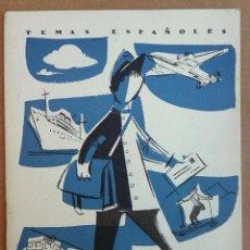 Coleccionismo de Revista Temas Españoles: SERVICIOS POSTALES.REVISTA TEMAS ESPAÑOLES Nº 360. AÑOS 50 - POSTAL. Lote 52955221
