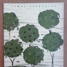 Coleccionismo de Revista Temas Españoles: ARBOLES FRUTALES. REVISTA TEMAS ESPAÑOLES Nº 336. AÑOS 50. Lote 52955902