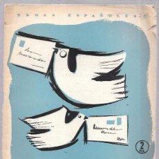 Coleccionismo de Revista Temas Españoles: CORREO. REVISTA TEMAS ESPAÑOLES Nº 302. POR EMILIO FORNET DE ASENSI. MADRID 1957. 28PAGS. 24,2X 18,5. Lote 52956526