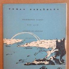 Coleccionismo de Revista Temas Españoles: BIOGRAFÍA DEL ESTRECHO. REVISTA TEMAS ESPAÑOLES Nº 216. AÑOS 50. Lote 52978110