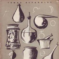 Coleccionismo de Revista Temas Españoles: AGUIRRE PRADO, LUIS: FARMACOPEA. TEMAS ESPAÑOLES Nº 338.. Lote 53575394