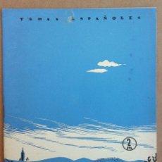 Coleccionismo de Revista Temas Españoles: ANDALUCÍA. TEMAS ESPAÑOLES Nº 44. Lote 52886947