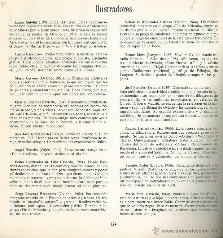 Coleccionismo de Revista Temas Españoles: Ábaco. Revista de Cultura y Ciencias Sociales. Nº 6 EXTRA OVIEDO 1989. CIUDAD 33 RELATOS VER INDICE - Foto 4 - 54000755