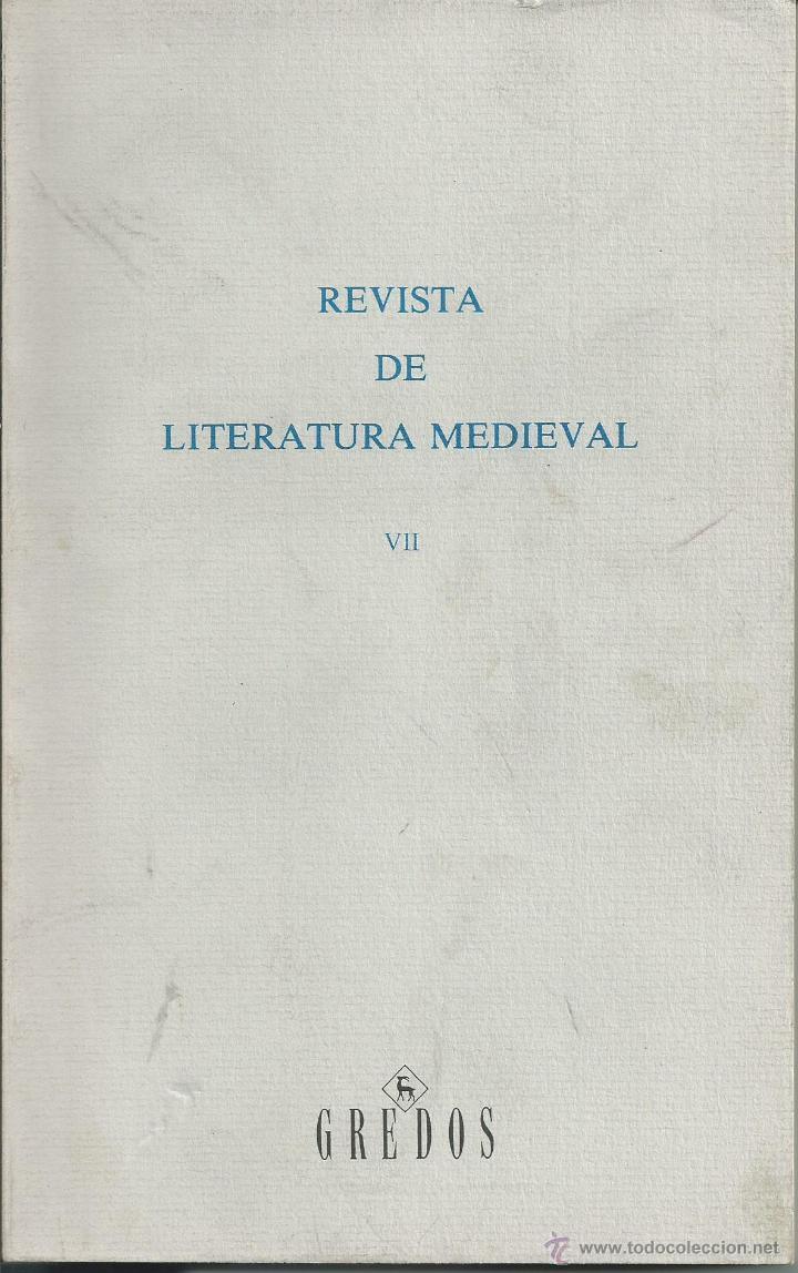 REVISTA DE LITERATURA MEDIEVAL VII . ALCALA DE HENARES 1995. . AUTOMATAS Y AMADIS GAULA. GREDOS (Papel - Revistas y Periódicos Modernos (a partir de 1.940) - Revista Temas Españoles)