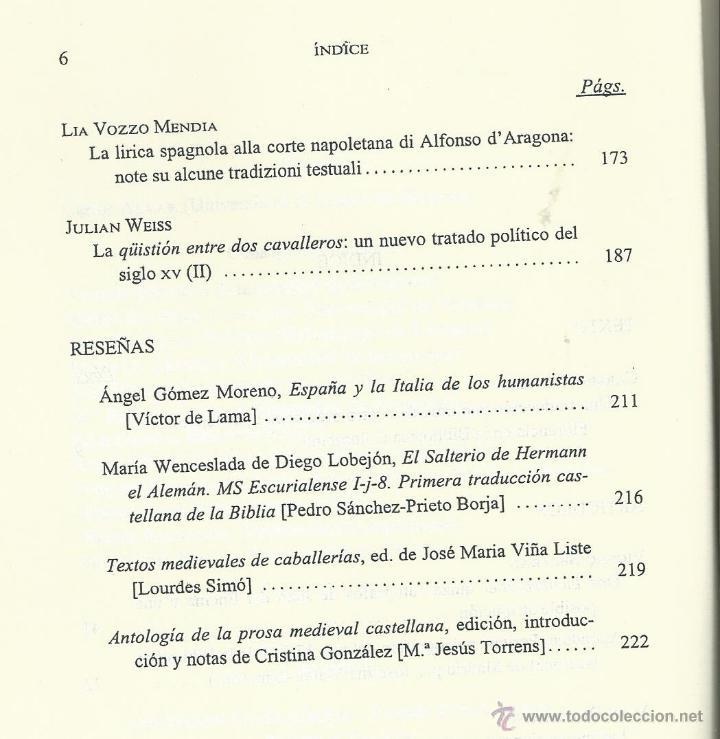 Coleccionismo de Revista Temas Españoles: REVISTA DE LITERATURA MEDIEVAL VII . ALCALA DE HENARES 1995. . AUTOMATAS Y AMADIS GAULA. GREDOS - Foto 3 - 54007344