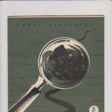 Coleccionismo de Revista Temas Españoles: TEMAS ESPAÑOLES - Nº 189 - LA NOVELA ESPAÑOLA EN LA POSGUERRA / 1955 - 3 PTS. / ILUSTRADO FOTOS. Lote 54063157