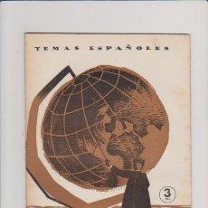 Coleccionismo de Revista Temas Españoles: TEMAS ESPAÑOLES - Nº 117 - EL PADRE MANJÓN / 1959 - 2 PTS. / ILUSTRADO FOTOS. Lote 54063359