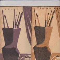 Coleccionismo de Revista Temas Españoles: TEMAS ESPAÑOLES - Nº 109 / 168 - PINTORES ESPAÑOLES /1954/55 - ILUSTRADO FOTOS. Lote 54063603