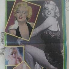 Coleccionismo de Revista Temas Españoles: REVISTA BOMBA PÓSTER MARILYN MONROE AÑOS 70 MEDIDAS 37×24. Lote 54078565