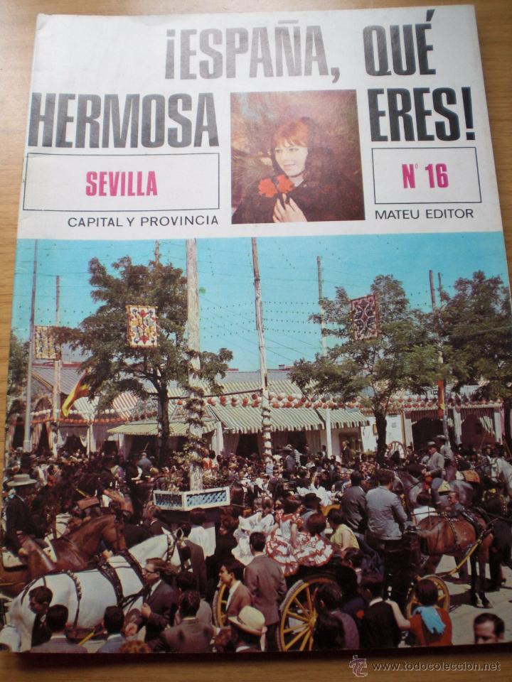 ANDALUCIA FERIA S. SANTA REVISTA SEVILLA Y PROVINCIA LA MAESTRANZA ESPAÑA HERMOSA Nº 16 ENVÍO GRATIS (Papel - Revistas y Periódicos Modernos (a partir de 1.940) - Revista Temas Españoles)