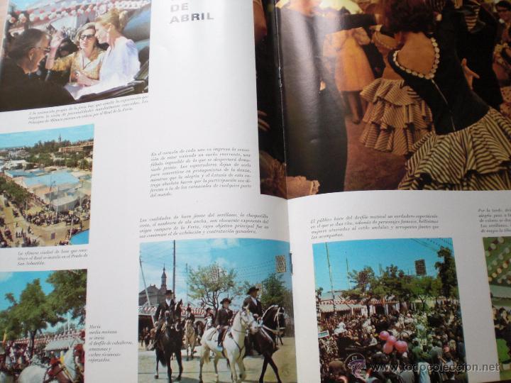 Coleccionismo de Revista Temas Españoles: ANDALUCIA FERIA S. SANTA REVISTA SEVILLA Y PROVINCIA LA MAESTRANZA ESPAÑA HERMOSA Nº 16 ENVÍO GRATIS - Foto 3 - 54079586