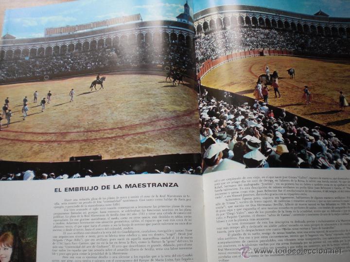 Coleccionismo de Revista Temas Españoles: ANDALUCIA FERIA S. SANTA REVISTA SEVILLA Y PROVINCIA LA MAESTRANZA ESPAÑA HERMOSA Nº 16 ENVÍO GRATIS - Foto 4 - 54079586