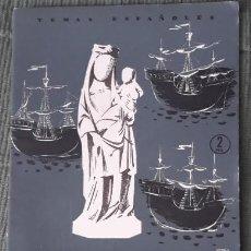 Coleccionismo de Revista Temas Españoles: TEMAS ESPAÑOLES - Nº177 - LUGARES COLOMBINOS - 1955 - DOMINGO MANFREDI. Lote 54705478