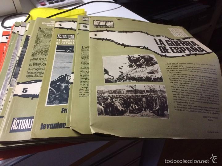 FASCÍCULOS COLECCIONABLES (Papel - Revistas y Periódicos Modernos (a partir de 1.940) - Revista Temas Españoles)