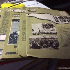 Coleccionismo de Revista Temas Españoles: FASCÍCULOS COLECCIONABLES. Lote 55992670