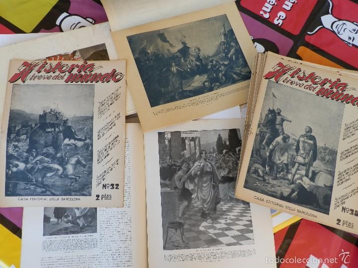 REVISTAS COLECCIONABLES HISTORIA UNIVERSAL (Papel - Revistas y Periódicos Modernos (a partir de 1.940) - Revista Temas Españoles)