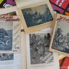 Coleccionismo de Revista Temas Españoles: REVISTAS COLECCIONABLES HISTORIA UNIVERSAL. Lote 58598993