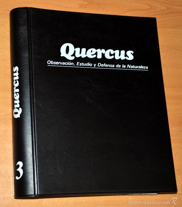 TOMO 3 - REVISTA QUERCUS (Nº 25 AL 36) - OBSERVACIÓN, ESTUDIO Y DEFENSA DE LA NATURALEZA, 1987/1989 (Papel - Revistas y Periódicos Modernos (a partir de 1.940) - Revista Temas Españoles)