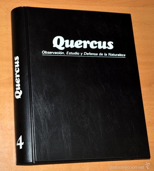TOMO 4 - REVISTA QUERCUS (Nº 37 AL 48) - OBSERVACIÓN, ESTUDIO Y DEFENSA DE LA NATURALEZA, 1989/1990 (Papel - Revistas y Periódicos Modernos (a partir de 1.940) - Revista Temas Españoles)