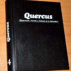 Coleccionismo de Revista Temas Españoles: TOMO 4 - REVISTA QUERCUS (Nº 37 AL 48) - OBSERVACIÓN, ESTUDIO Y DEFENSA DE LA NATURALEZA, 1989/1990. Lote 59530191
