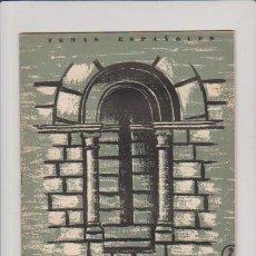 Collectionnisme de Magazine Temas Españoles: ZAMORA - Nº 254 - PUBLICACIONES ESPAÑOLAS 1956 / ILUSTRADO. Lote 165088940