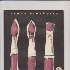 Coleccionismo de Revista Temas Españoles: ZURBARÁN, VELÁZQUEZ Y MURILLO - Nº 278 - PUBLICACIONES ESPAÑOLAS 1956 / ILUSTRADO. Lote 60522979