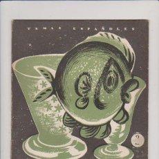 Coleccionismo de Revista Temas Españoles: LOS VIDRIOS - Nº 293 - PUBLICACIONES ESPAÑOLAS 1957 / ILUSTRADO. Lote 60523151