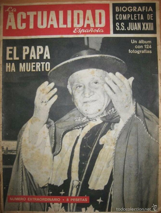 LA ACTUALIDAD ESPAÑOLA 1963 (Papel - Revistas y Periódicos Modernos (a partir de 1.940) - Revista Temas Españoles)