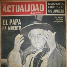 Coleccionismo de Revista Temas Españoles: LA ACTUALIDAD ESPAÑOLA 1963. Lote 61363331