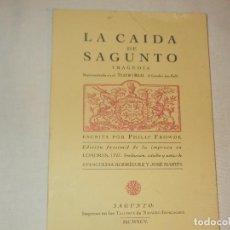 Coleccionismo de Revista Temas Españoles: LA CAIDA DE SAGUNTO TRAGEDIA 1995. Lote 62336680