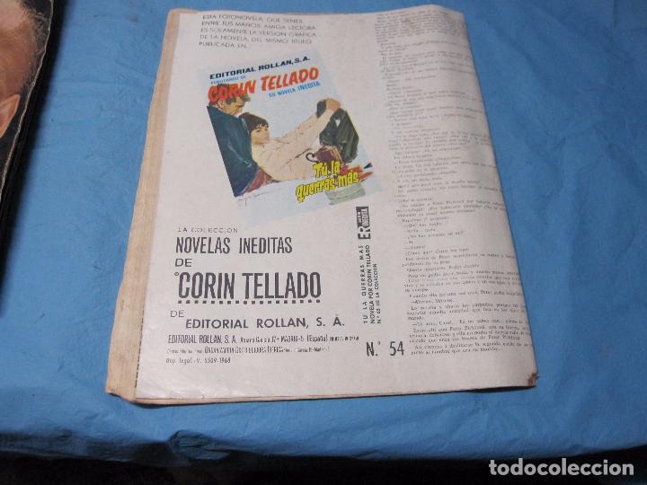 Coleccionismo de Revista Temas Españoles: FOTONOVELA NOVELA CORIN TELLADO NUMERO 54 - Foto 2 - 65703114