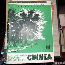 Coleccionismo de Revista Temas Españoles: LOS TERRITORIOS ESPAÑOLES DEL GOLFO DE GUINEA. NUM4. OCTAVIO DÍAZ- PARÍS. MADRID, 1952. Lote 70352725