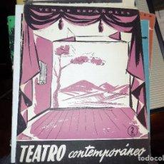 Coleccionismo de Revista Temas Españoles: TEATRO CONTEMPORÁNEO. NUM 270. SANTIAGO MELERO. MADRID, 1956. Lote 70353409