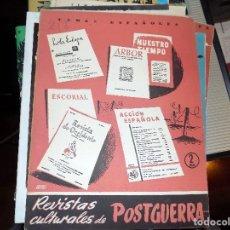 Coleccionismo de Revista Temas Españoles: REVISTAS CULTURALES DE POSTGUERRA. NUM 215. FLORENTINO PEREZ EMBID. MADRID, 1956. Lote 70353453
