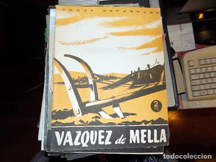 VAZQUEZ DE MELLA. LUIS AGUIRRE PRADO. MADRID, 1954 (Papel - Revistas y Periódicos Modernos (a partir de 1.940) - Revista Temas Españoles)