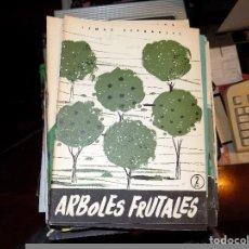 Coleccionismo de Revista Temas Españoles: ARBOLES FRUTALES. NUM 336. LUIS AGUIRRE PRADO. MADRID, 1957. Lote 70356245